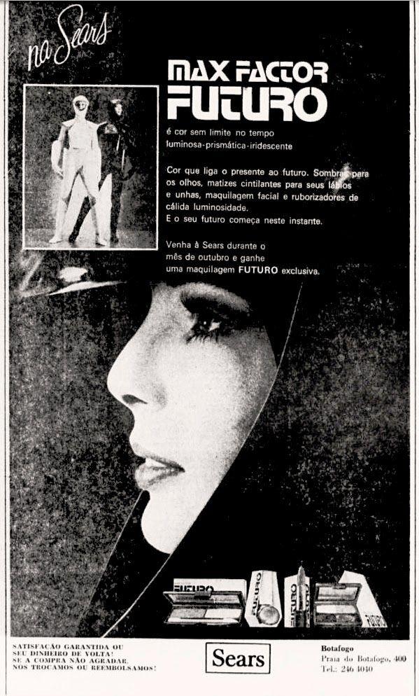 Anúncio Max Factor - Sears - 1973