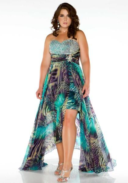 Fabulouss Plus Size 64487F at Prom Dress Shop