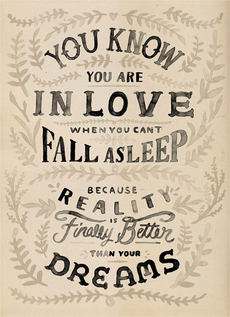 Typographic Quotes: Love Edition