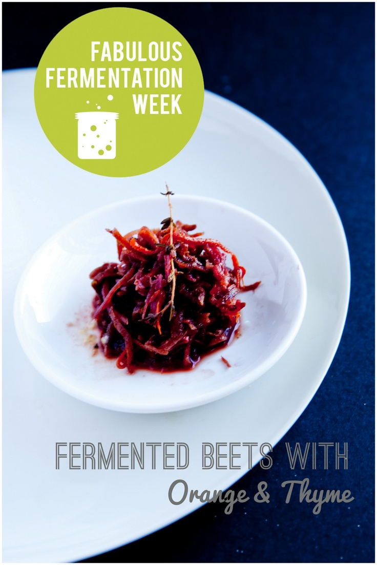 Fermented Beets with Orange & Thyme, Tzatziki and Spiced Chickpea Cakes - Whole Promise