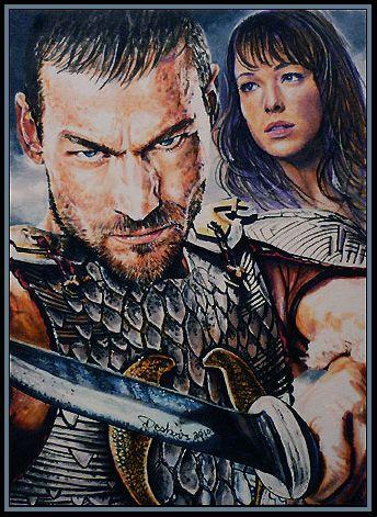 Spartacus : Blood and Sand by DavidDeb.deviantart.com