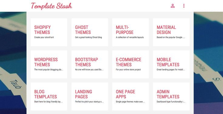 En Template Stash vas a a encontrar una colección muy completa de plantillas web gratis para crear tus sitios web.