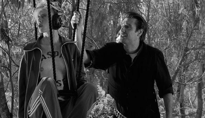 """Fabrizio Gifuni and Silvia Calderoni in """"La leggenda di Kaspar Hauser"""" (2012)"""