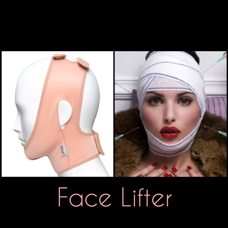Let's face it (Excuse the pun, see what we did there?!) no one is getting younger. We do specialised facial garments to keep your face taut and lifted.