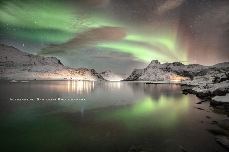 Northern Light - Flames in the sky by Alessandro Bartolini. Like and love the picture on 500px and follow me! New pictures are going to arrive