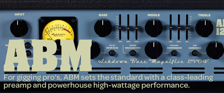 Ashdown ABM-600-EVO IV 600W head