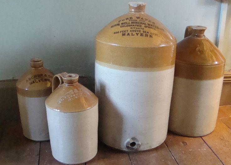 Flagons of Malvern Water
