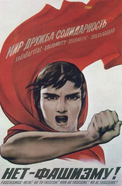 "Say ""No to Fascism!"""