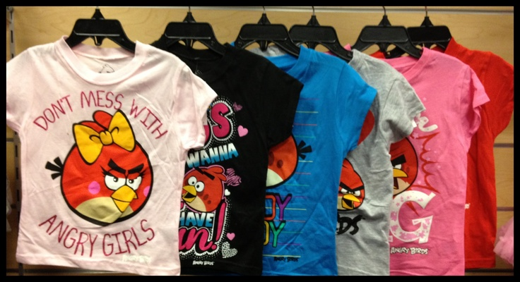 you will be as Angry as a Bird if you let these T's slip away. #NewArrivals