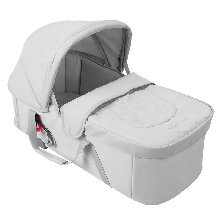 BackIntroThe XLR Carrycot is the ideal lie-flat environment for newborns recommended by health professionals for proper infant development. Easily and securely attaching to the Maclaren XLR stroller in a rearward-facing position, our carrycot gives parents direct view of their little one; whilst built-in carry handles offer easy transport. The adjustable two-position UPF 50+ hood and apron protect baby from the elements. Ultra-soft breathable lining and plush padded waterproof mattress…