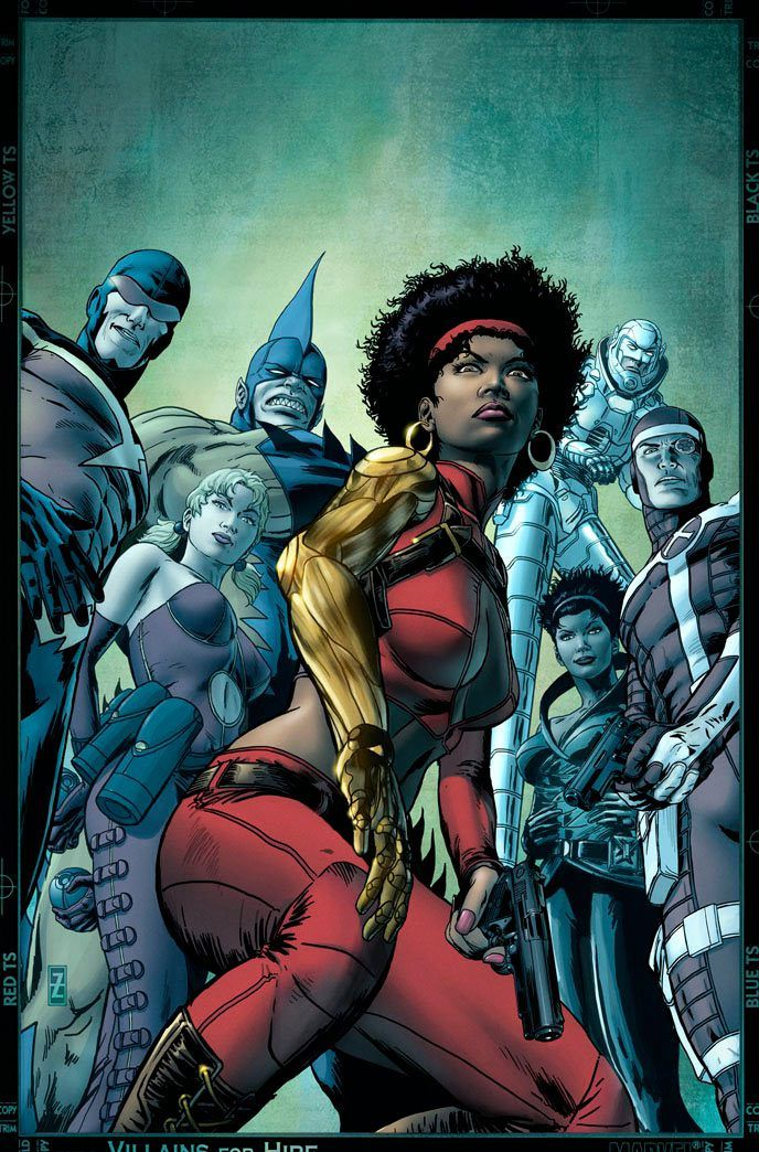 Misty Knight and Compnay