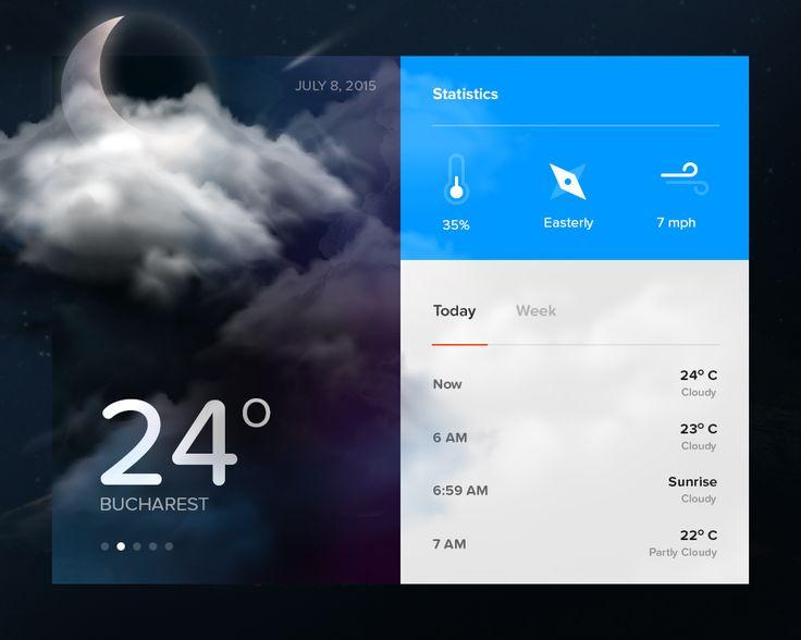 Day010   weather widget