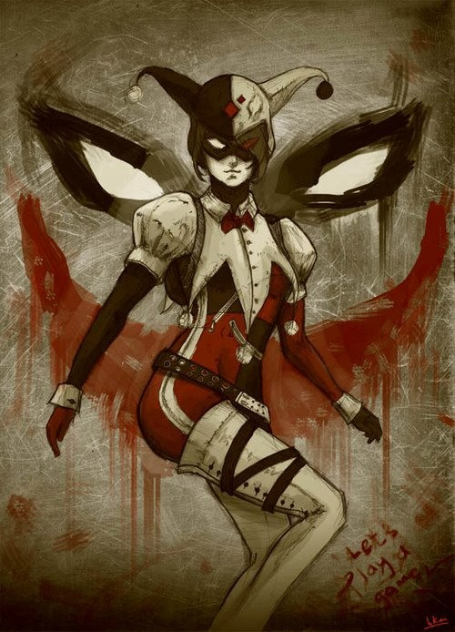 A Cool and Different Harley Quinn