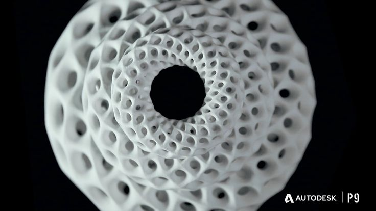 Fibonacci Zoetrope Sculptures. These are 3-D printed sculptures designed to animate when spun under a strobe light. The placement of the app...
