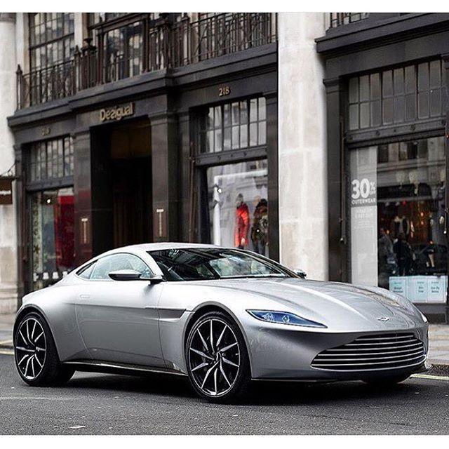 The New James Bond Car Aston Martin DB10