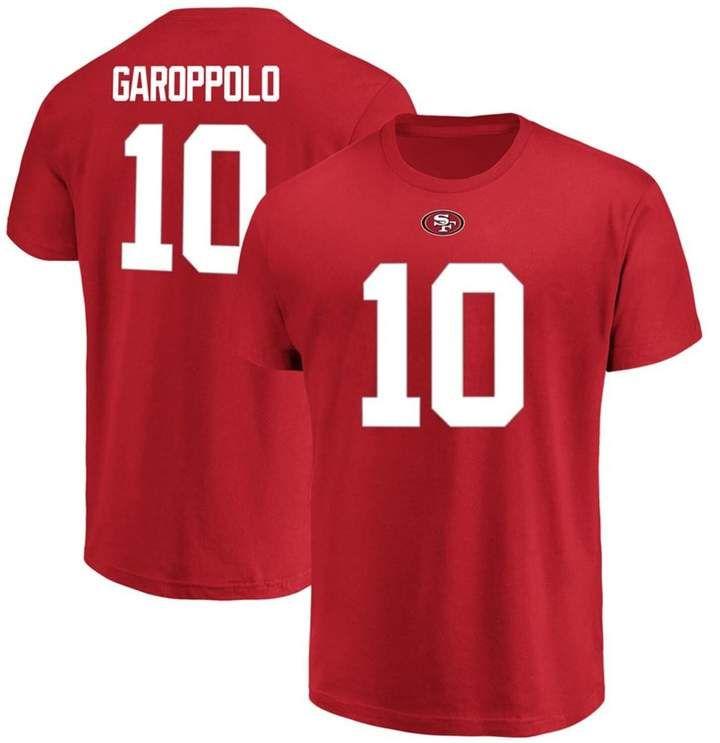 Men's Majestic Jimmy Garoppolo Scarlet San Francisco 49ers Big ...