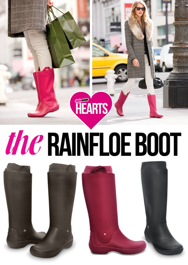Comfy Gumboots  !#crocs #wellie #rainfloe boot!  Check em out on www.StyleScoop.co.za