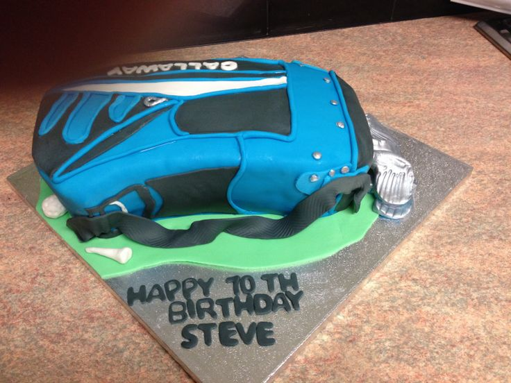 Golf Bag Cake Images : Golf bag themed birthday cake xxx Powered by cupc@kes ...