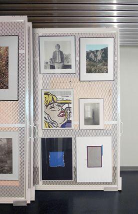 art gallery space storage