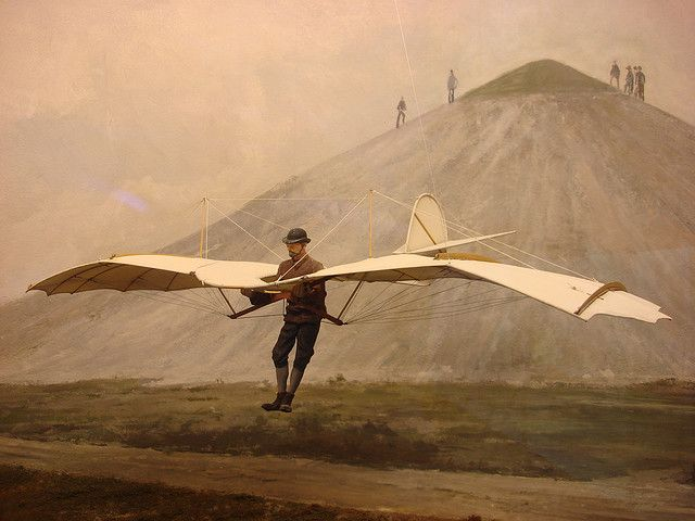 First otto gliders lilienthal