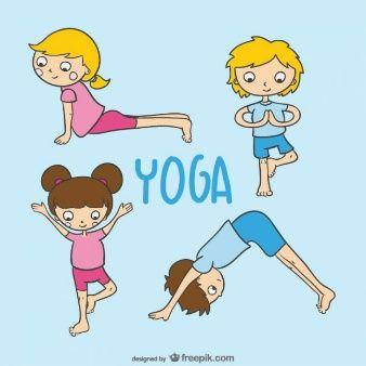 Vecteur de yoga