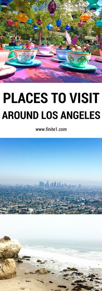 Things to do in Los Angeles. Places to visit in Los Angeles, California. Hollywood. Disneyland. Hollywood sign. Griffith Conservatory.
