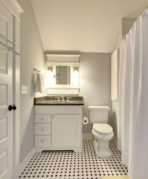Photo Image Guest Bath traditional bathroom philadelphia Echelon Custom Homes