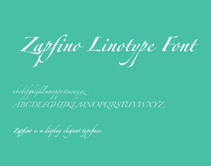 Best 25+ Zapfino Font Ideas On Pinterest