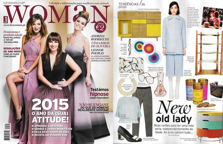 INSIDHERLAND | Into the Woods bookcase by Joana Santos Barbosa featured in Lux Woman from Portugal, January 2015 #INSIDHERLAND #intothewoods #bookcase #brass #walnut #design