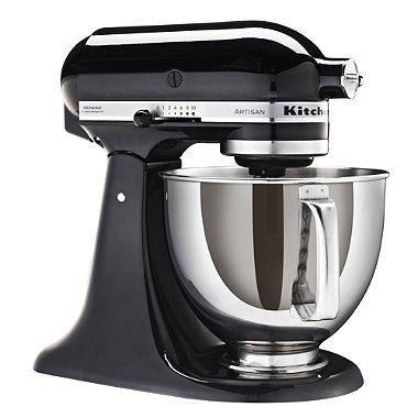 Black KitchenAid® Artisan® Stand Mixer