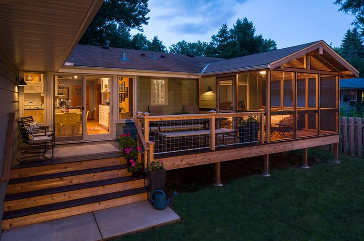 Traditional Deck Design in Minneapolis