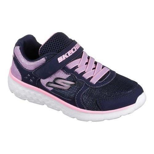 Girls' Skechers GOrun 400 Sparkle Sprinters Trainer Navy/