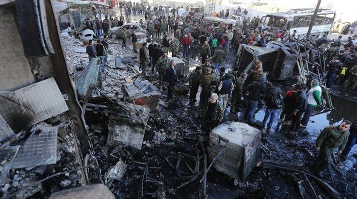 Βομβιστική επίθεση του ΙΚ στο Ιράκ με τουλάχιστον 60 νεκτρούς