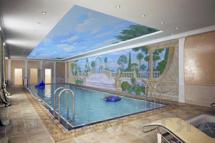 http://taizh.com/wp-content/uploads/2014/11/Beautiful-pool-indoor-design-with-wonderful-wallpaper-ideas-and-brown-tile-floor-as-well-blue-sjy-ceiling-and-lighting-ideas.jpg