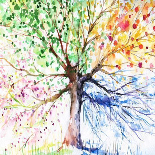 Buy #RainbowTree canvas from just $40AUD and Free Shipping! #TheCanvasArtFactory Factory Prices, 100% Australian