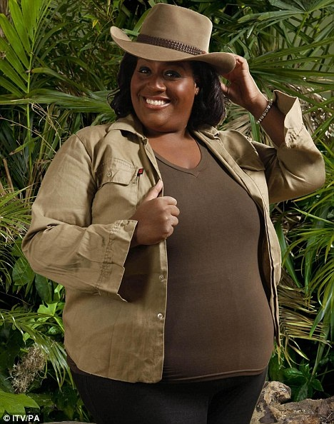 UK I'm a celebrity Jungle photo shoot Alison Hammond