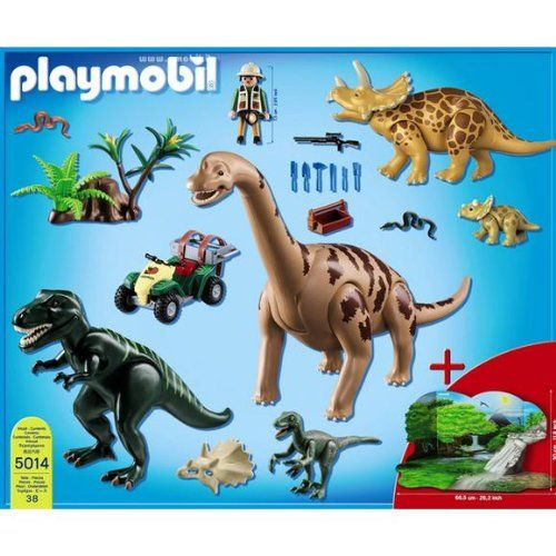 39 best images about dinosaurios playmobil on pinterest for Playmobil dinosaurios