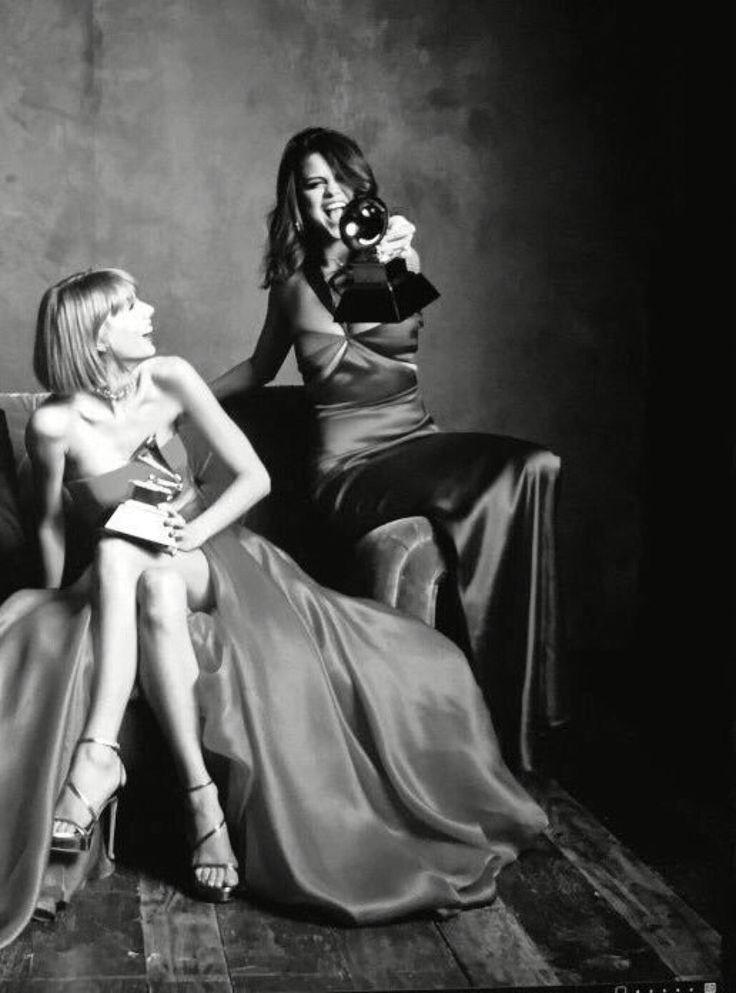 Selena Gomez & Taylor Swift ~ 58th Grammy Awards