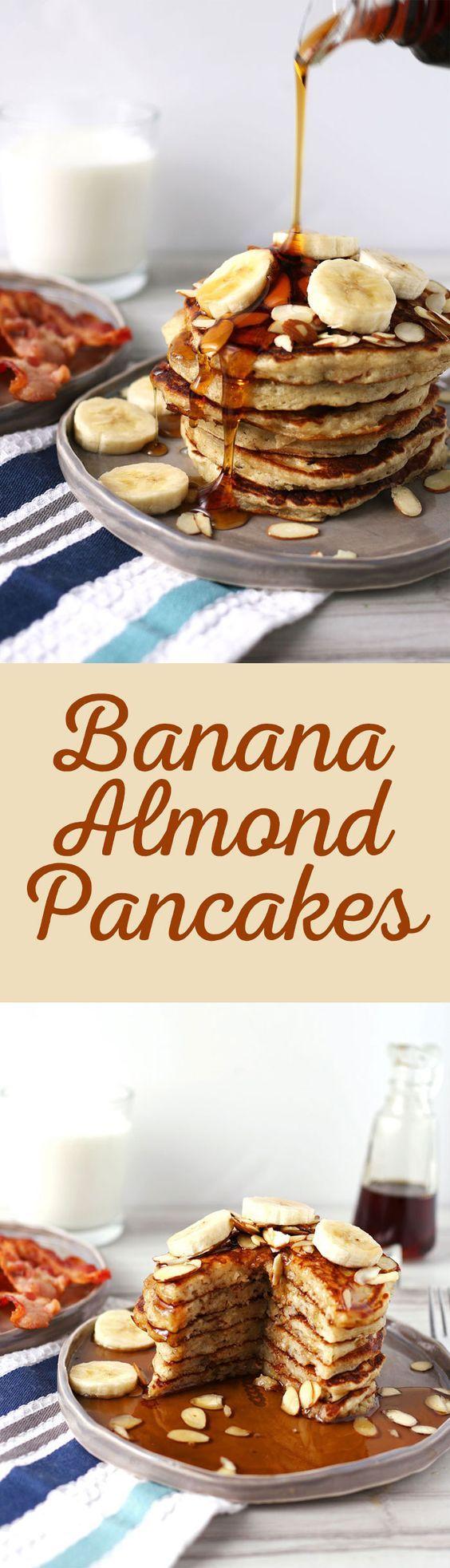 Craftaholics Anonymous® | Banana Almond Pancakes