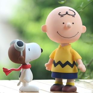 Snoopy peanut 2 optional children toy doll doll creative birthday gift animation model