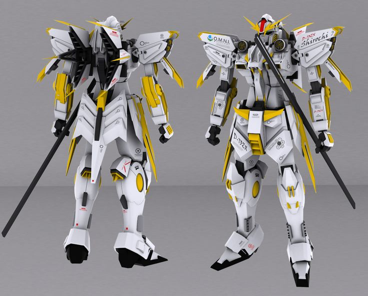 D-73ZX The Shirochi - Front/Back View
