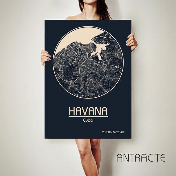 HAVANA Cuba CANVAS Map Havana Cuba Poster City Map Havana Cuba Art Print Havana Cuba poster Havana Cuba map art Poster Havana Cuba map Get a discount for multiple maps: https://www.etsy.com/shop/ArchTravel ♛COLORS, QUALITY AND DETAILS: ★Impressive High Detailed Map ★Design BAUHAUS