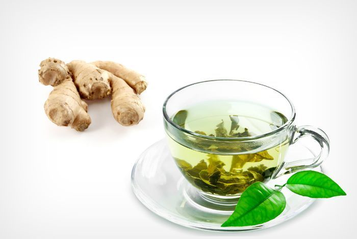 Herbs for weight loss green tea mixed with ginger - home remedies for weight loss