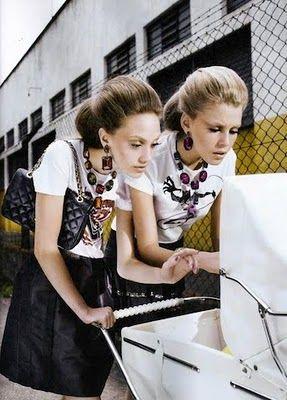 """""""Alo, Boneca!"""": Isadora di Domenica and Rhaisa Batista by Gui Paganini for Brazilian Vogue"""