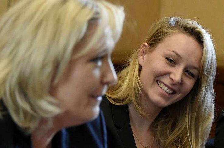 Les Blondes du Droit: Marine Le Pen et sa nièce Marion Maréchal-Le Pen