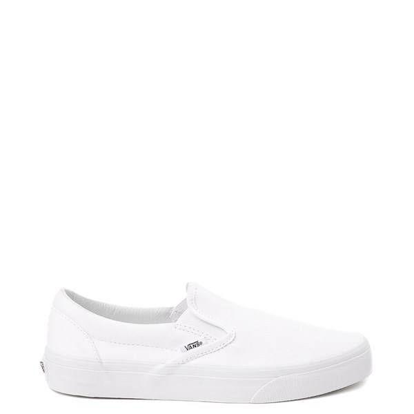 Vans Slip On Skate Shoe - White   Vans