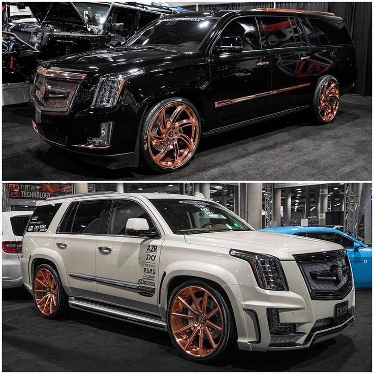 """Forgiato Wheels on Instagram: """"#Cadillac #Escalade on #Forgiatos at the…"""