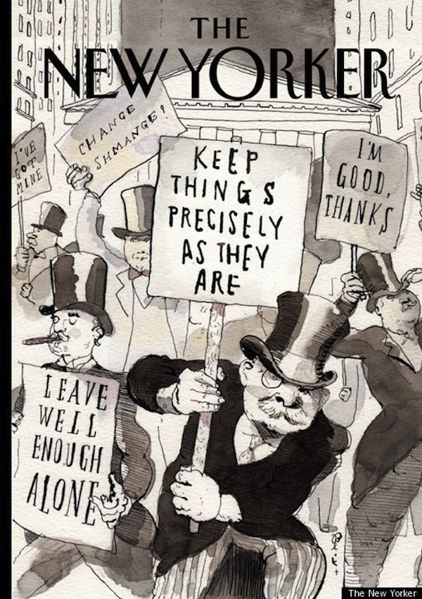 The New Yorker Mocks The 1% With Its Occupy Wall Street Cover