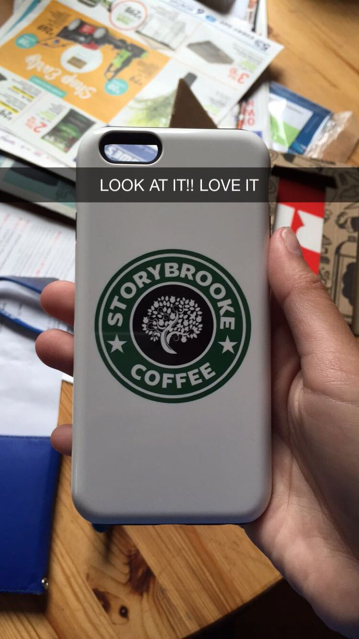 I love my new case !!! Especially me, the ouat and Starbucks lover! Thank you red bubble For anyone who wants a case that has to do with once, go to redbubble!They have so many options