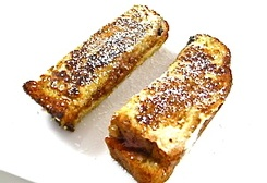 Celebrate National Peanut Butter Lover's Day with PB & J French Toast Sticks :: Recipe Kitchen